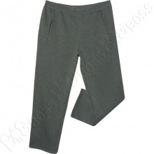 Тёплые спортивные штаны серого цвета Big Team
