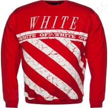 Джемпер красного цвета OFF WHITE
