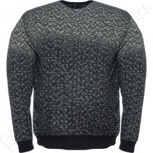 Джемпер серого цвета в узор Annex