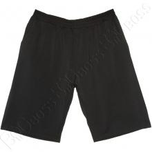 Трикотажные шорты (100% хб) чёрного цвета Big Team
