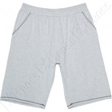 Трикотажные шорты (100% хб) светло серого цвета Big Team