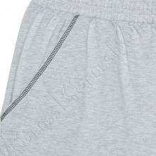 Трикотажные шорты (100% хб) светло серого цвета Big Team 1
