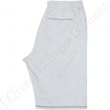 Трикотажные шорты (100% хб) светло серого цвета Big Team 2
