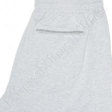 Трикотажные шорты (100% хб) светло серого цвета Big Team 3