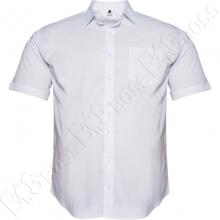 Рубашка белого цвета (100% ХБ) Big Team