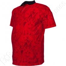 Поло лакоста красного цвета Big Team 2