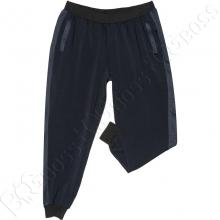 Спортивные штаны на манжете тёмно синего цвета Big Team
