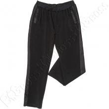 Спортивные штаны чёрного цвета Big Team