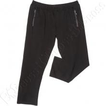 Трикотажные спортивные штаны чёрного цвета Dekons