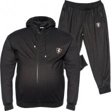 Спортивный костюм чёрного цвета Big Team