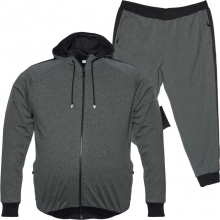 Спортивный костюм серого цвета Big Team