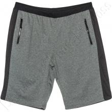 Трикотажные шорты серого цвета Big Team
