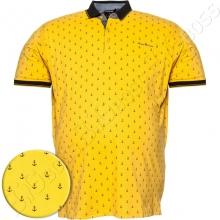 Поло лакоста жёлтого цвета Annex