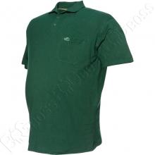 Поло лакоста зелёного цвета Big Team 2
