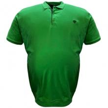 Поло лакоста на манжете зелёного цвета Annex