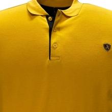 Поло лакоста на манжете жёлтого цвета Annex 1