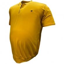Поло лакоста на манжете жёлтого цвета Annex 2