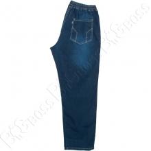 Летние джинсы на резинке тёмно синего цвета Dekons 3