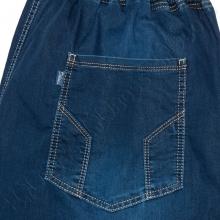 Летние джинсы на резинке тёмно синего цвета Dekons 4