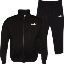 Трикотажный спортивный костюм чёрного цвета BIG TEAM