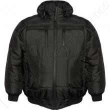 Зимняя куртка чёрного цвета 11-13 XL Dekons