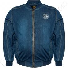 Джинсовая (стрейчевая) куртка Olser
