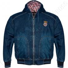 Джинсовая куртка с капюшоном Dekons
