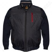 Осенняя куртка с вязанными рукавами Olser