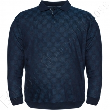 Кофта поло синего цвета Borcan Club