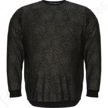 Джемпер чёрного цвета в декор Borcan Club