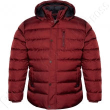 Зимняя куртка бордового цвета Dekons