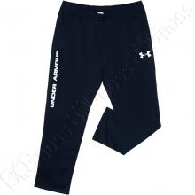 Трикотажные спортивные штаны тёмно синего цвета Big Team