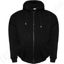 Тёплый (зимний) спортивный костюм чёрного цвета Big Team 1