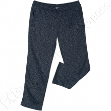 Тёплые (зимние) спортивные штаны синего цвета Big Team