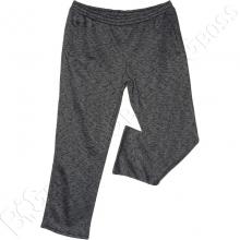 Тёплые (зимние) спортивные штаны чёрного цвета Big Team