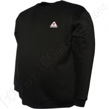 Толстовка тёплая чёрного цвета Big Team 2