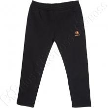 Тёплые (зимние) спортивные штаны чёрного цвета Dekons