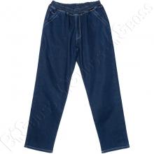 Тёмно синие джинсы на флисе Dekons