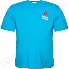 Футболка голубого цвета Big Team