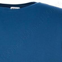 Футболка однотонная цвета джинс Big Team 1
