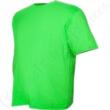 Футболка однотонная салатового цвета Big Team 2