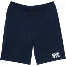 Трикотажные шорты тёмно синего цвета Big Team