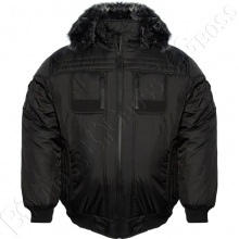 Зимняя куртка чёрного цвета Dekons