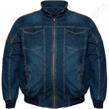 Джинсовая куртка на тонкой подкладке Olser