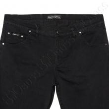 Летние тонкие джинсы чёрного цвета Dekons 1