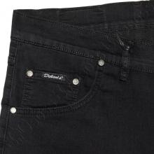 Летние тонкие джинсы чёрного цвета Dekons 2