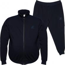 Трикотажный спортивный костюм тёмно синего цвета BIG TEAM