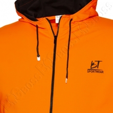 Олимпийка с капюшоном оранжевого цвета Big Team 1