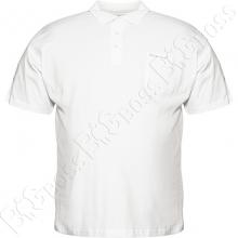 Поло белого цвета Borcan Club