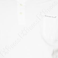 Поло белого цвета Borcan Club 1